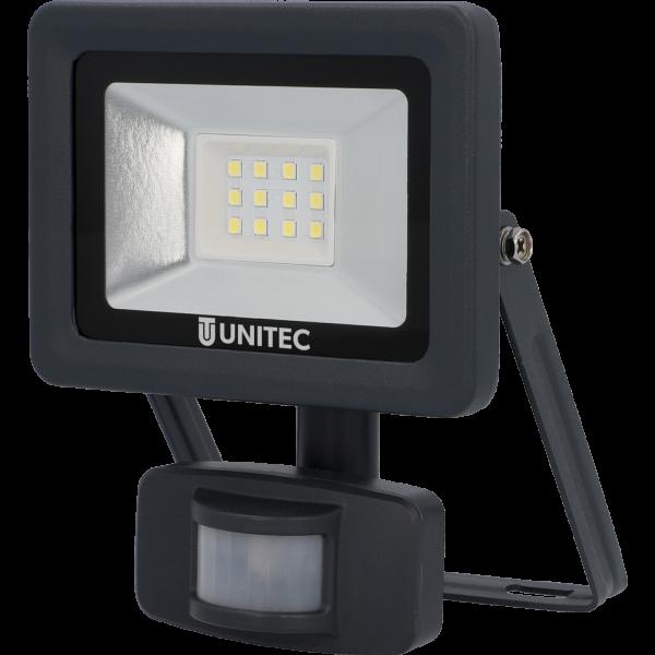 UNITEC LED Strahler mit Bewegungsmelder 800 Lumen 10 Watt