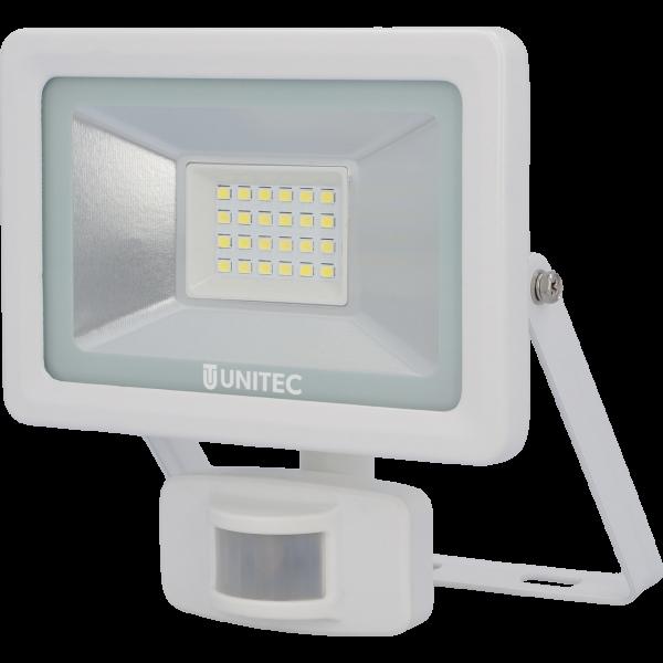 UNITEC LED Strahler mit Bewegungsmelder 1600 Lumen 20 Watt