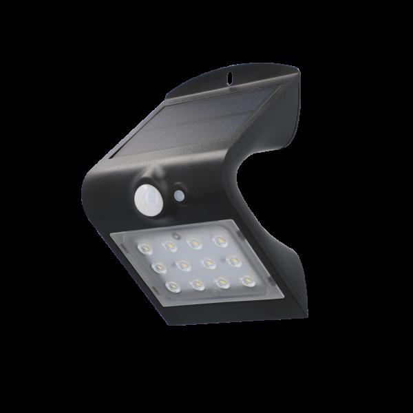 UNITEC LED Solar-Wandleuchte 220 Lumen 1,5 Watt