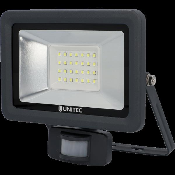 UNITEC LED Strahler mit Bewegungsmelder 2400 Lumen 30 Watt